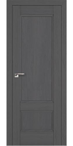 Дверь межкомнатная экошпон глухая 105Х цвет пекан темный