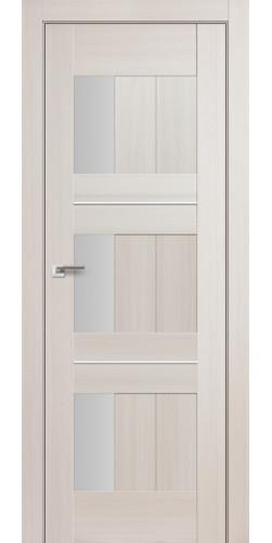 Дверь межкомнатная экошпон со стеклом 35Х цвет эш вайт мелинга