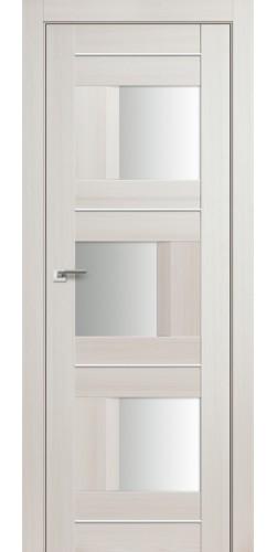 Дверь межкомнатная экошпон со стеклом 13Х цвет эш вайт мелинга