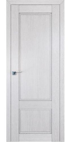 Дверь межкомнатная экошпон глухая 2.30XN цвет монблан