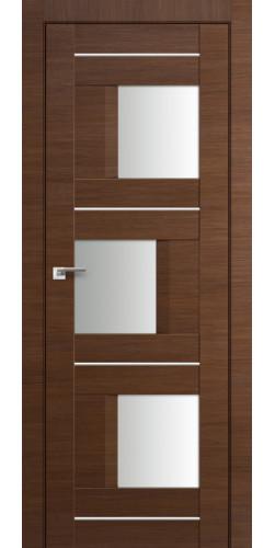 Дверь межкомнатная экошпон со стеклом 13Х цвет малага черри кроскут