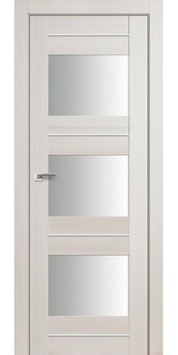 Дверь межкомнатная экошпон со стеклом 41Х цвет эш вайт мелинга