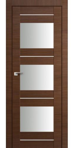Дверь межкомнатная экошпон со стеклом 41Х цвет малага черри кроскут