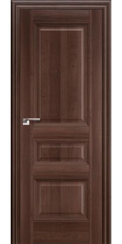 Дверь межкомнатная экошпон глухая 66Х цвет орех сиена
