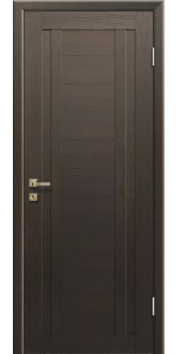 Дверь межкомнатная экошпон глухая 14Х цвет Венге мелинга