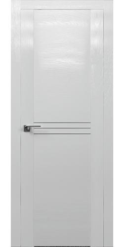 Межкомнатная дверь экошпон 150 STP ПГ Белый глянец