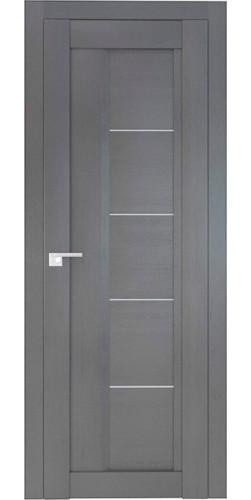 Дверь межкомнатная экошпон со стеклом 2.10XN цвет Грувд