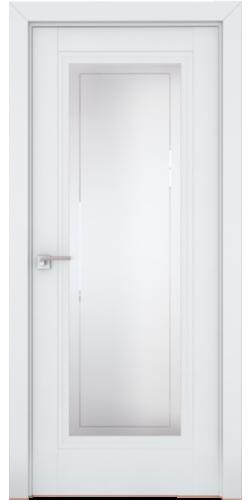 Дверь межкомнатная экошпон со стеклом 2.111U цвет Аляска