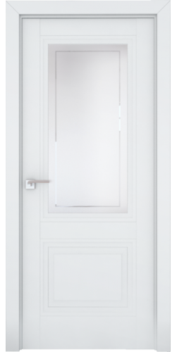 Дверь межкомнатная экошпон со стеклом 2.113U цвет Аляска