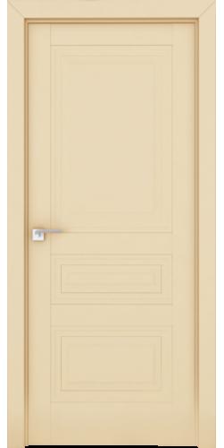 Дверь межкомнатная экошпон глухая 2.114U цвет Магнолия сатинат
