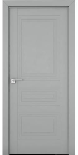 Дверь межкомнатная экошпон глухая 2.114U цвет Манхэттен