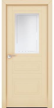 Дверь Профиль дорс 2.115 U ПО Магнолия Сатинат