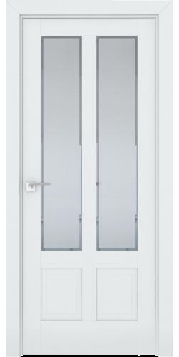 Дверь межкомнатная экошпон со стеклом 2.117U цвет Аляска