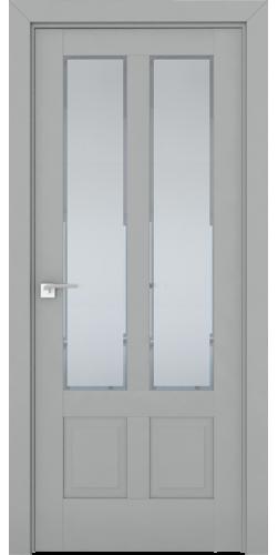 Дверь межкомнатная экошпон со стеклом 2.117U цвет Манхэттен