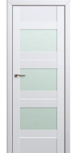 Дверь межкомнатная экошпон со стеклом 41U цвет Аляска