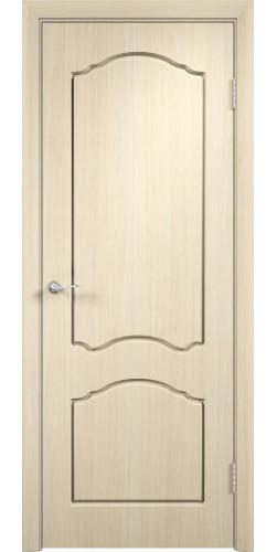 Дверь межкомнатная Лидия цвет беленый дуб