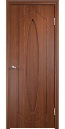 Межкомнатная дверь ПВХ Орбита ПГ итальянский орех