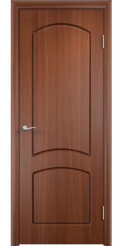 Дверь межкомнатная Кэрол цвет итальянский орех