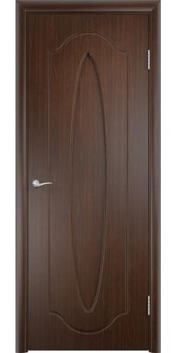 Межкомнатная дверь ПВХ Орбита ПГ венге