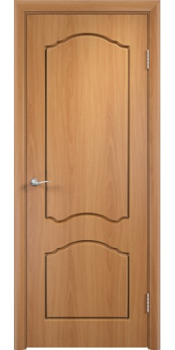 Дверь межкомнатная Лидия цвет миланский орех
