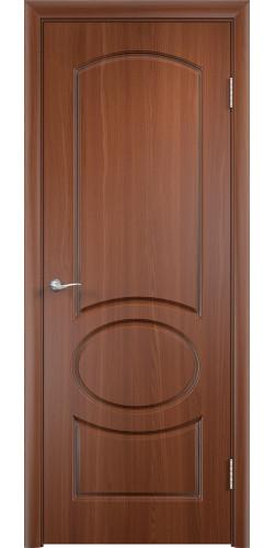 Дверь межкомнатная Неаполь цвет итальянский орех