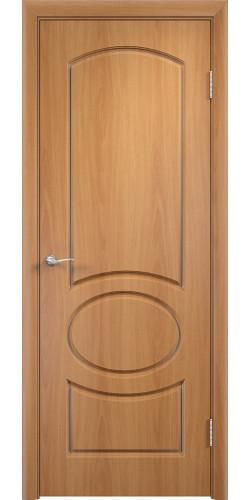 Дверь межкомнатная Неаполь цвет миланский орех