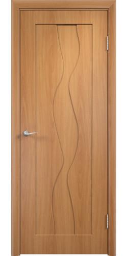 Дверь межкомнатная Вираж цвет миланский орех