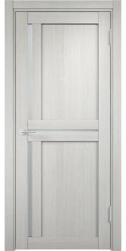 Межкомнатная дверь 3D со стеклом Берлин 1 слоновая кость