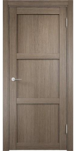 Межкомнатная дверь 3D Баден 1 ПГ дуб дымчатый