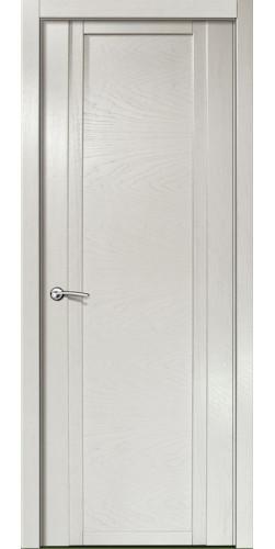 Межкомнатная дверь шпонированная QDO ПГ ясень жемчуг