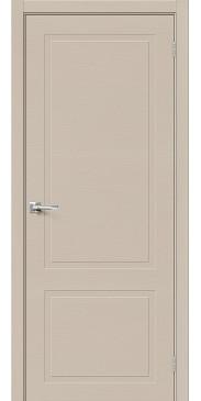 Шпонированная межкомнатная дверь Вуд НеоКлассик-12.H Latte без стекла
