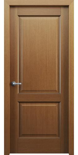 Дверь шпонированная глухая Классик 102 цвет орех