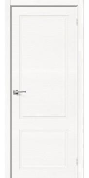 Шпонированная межкомнатная дверь Вуд НеоКлассик-12.H Whitey без стекла