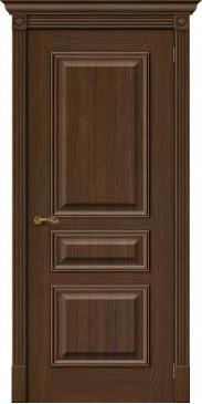 Межкомнатная дверь шпонированная Вуд классик 14 golden oak без стекла