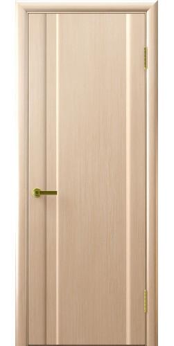 Межкомнатная дверь шпонированная Техно 1 ПГ беленый дуб