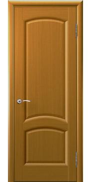 Шпонированная межкомнатная дверь Лаура дуб капри без стекла