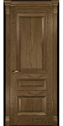 Дверь межкомнатная шпонированная глухая Фараон 2 мореный дуб светлый