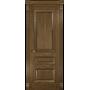 Межкомнатная дверь шпонированная Фараон 2 ПГ мореный дуб светлый