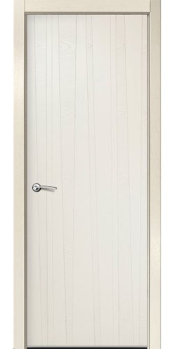 Межкомнатная дверь шпонированная ID V бьянко