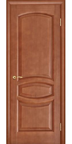Дверь межкомнатная шпонированная глухая Анастасия темный анегри