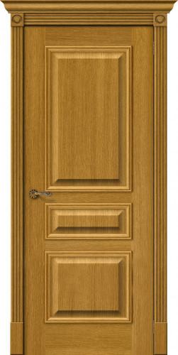 Дверь шпонированная глухая Вуд классик 14 цвет natur oak