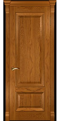 Дверь межкомнатная шпонированная глухая Фараон 1 дуб золотистый