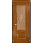 Межкомнатная дверь шпонированная Фараон 1 ПГ дуб золотистый