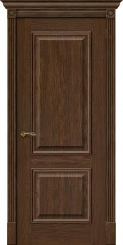 Дверь шпонированная глухая Вуд классик 12 цвет golden oak