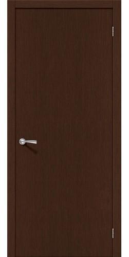 Межкомнатная дверь шпонированная Евро 023 ПГ венге