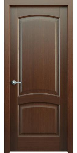 Дверь шпонированная глухая Классик 104 цвет венге