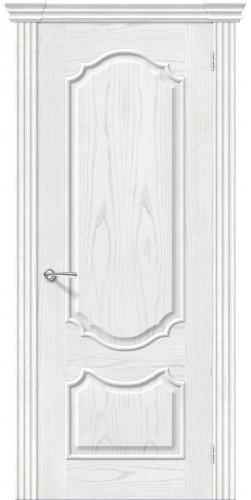 Межкомнатная дверь шпонированная Париж ПГ жемчуг