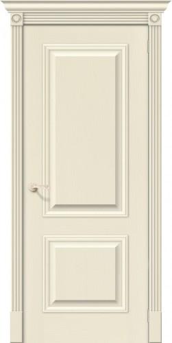 Межкомнатная дверь шпонированная Вуд классик 12 ПГ ivory