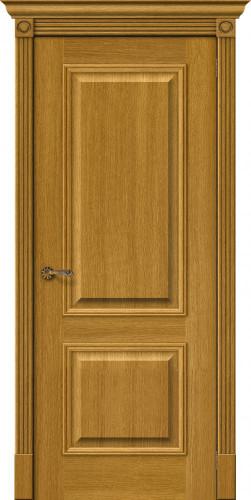Дверь шпонированная глухая Вуд классик 12 цвет natur oak