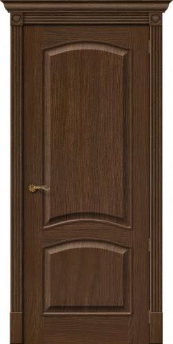 Дверь шпонированная глухая Вуд классик 32 цвет golden oak